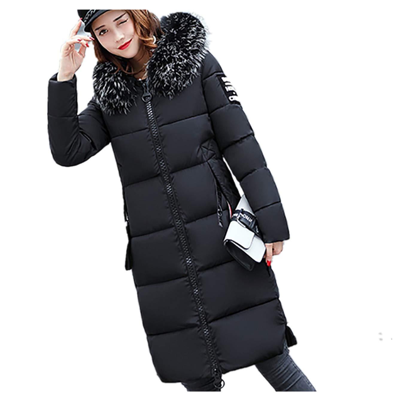 a0f6c47864e5 beautyjourney Cappotto Donna Piumino Taglie Forti Elegante Pelliccia Faux Giacca  Donna Invernale Lungo Cappotti Donna Invernali