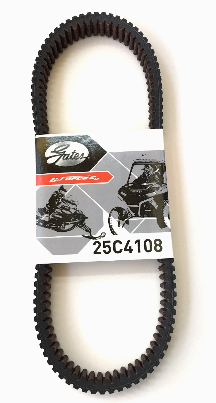 Gates 25C4108 C-12 Drive Belt//Polaris 1000 General 2016-2017