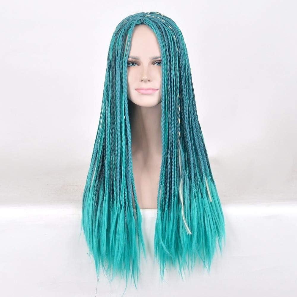 Descendientes GJBXP 2 Uma Cosplay peluca trenzada sintética moda ...
