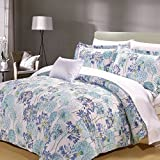 North Home Meadow 8pc Duvet Cover and Sheet Set (Queen)