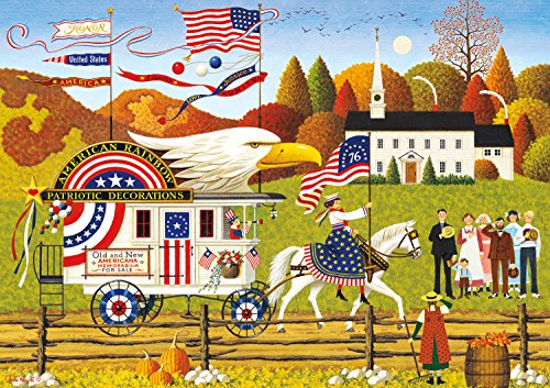 Buffalo Games - Charles Wysocki - So Proudly We Hail - 300 Large Piece Jigsaw Puzzle