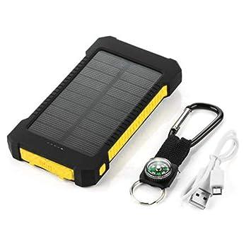 Losenlli Banco de energía Solar de Gran Capacidad Dual USB ...