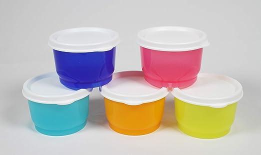 Tupperware aperitivos vasos, conjunto de 5 en Papaya, Pink Punch ...