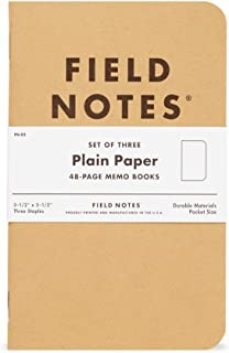 """product image for Field Notes: Original Kraft 3-Pack - Plain Paper - 48 Pages - 3.5"""" x 5.5"""""""