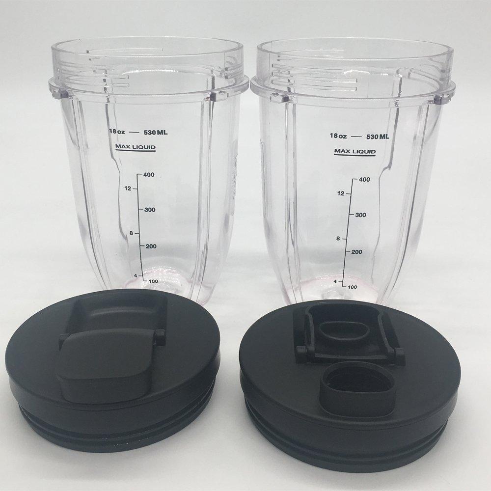 ninja bullet replacement cups 12oz cup with Lid for 900w 1000w Nutri Ninja Blender Auto iQ 900w 1000w Nutri Ninja Blender Auto iQ series//ninja pulse blender series//ninja intelli-sense series 2, 12oz