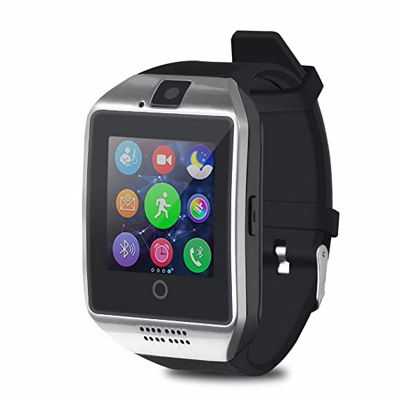 Amazon.com: Bluetooth Smart Watch finess tracker Men Watch ...