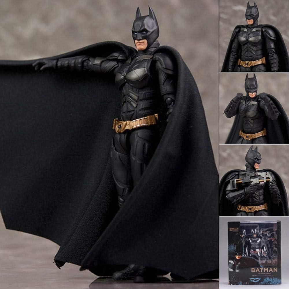 DC Juguetes The Dark Knight Batman SHF Figura De Acción De Animación De Carácter Modélico De Los Niños 16cm