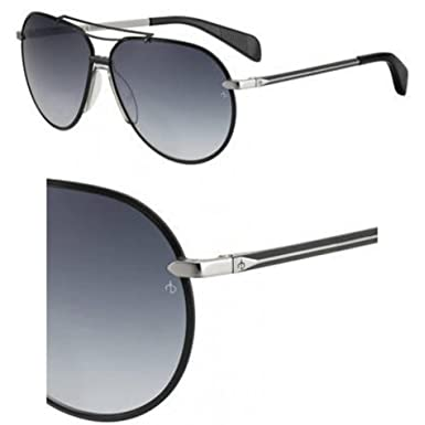 ac42efdfaf8f Sunglasses Rag and Bone Rnb 5008 /S 0TI7 Ruthenium Matte Black / 9O ...