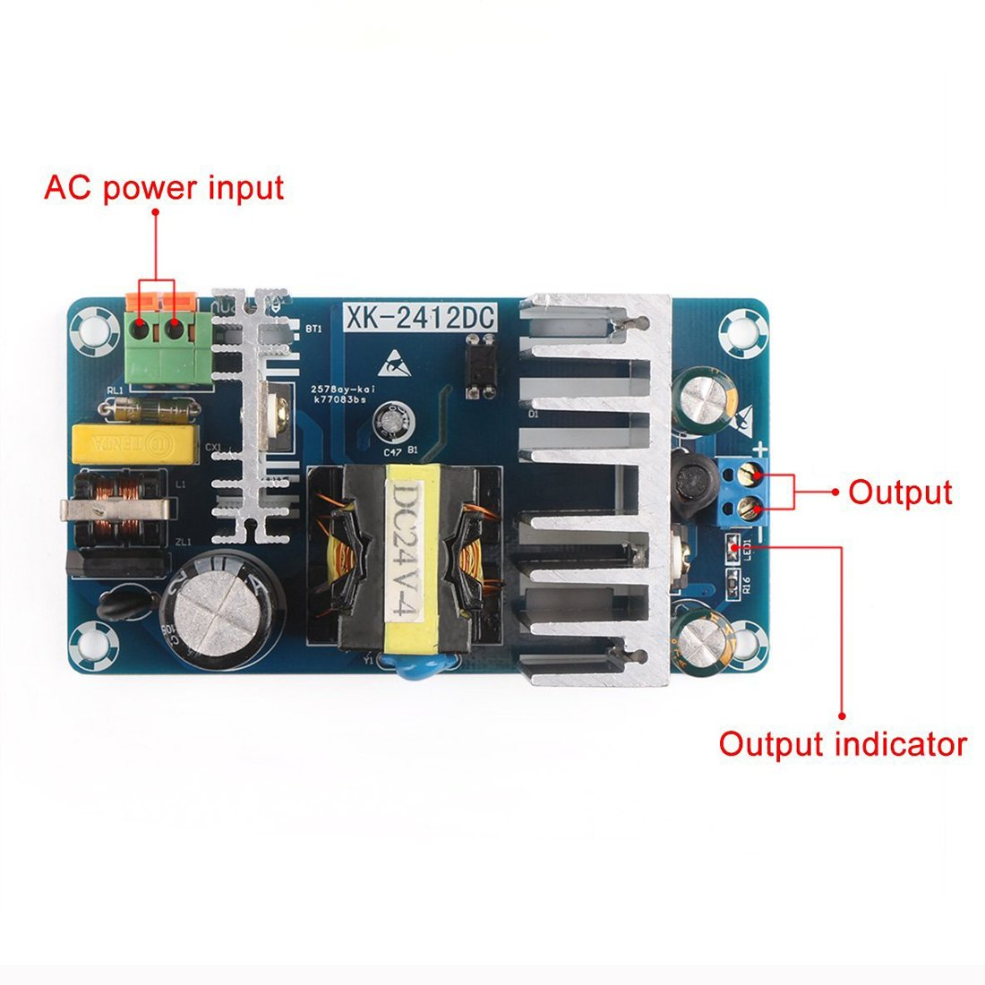 GEREE AC to DC Converter 85 ~ 265v AC to DC 12V 8A Adapter/Industrial Module Switching Power Supply by GEREE (Image #3)