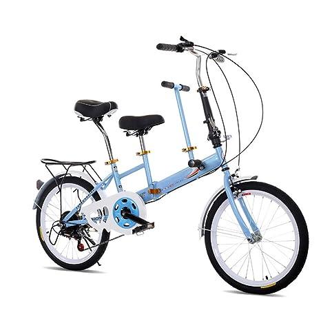 Bicicletta Pieghevole Da 20 Bici Piegante Della Bicicletta Blu