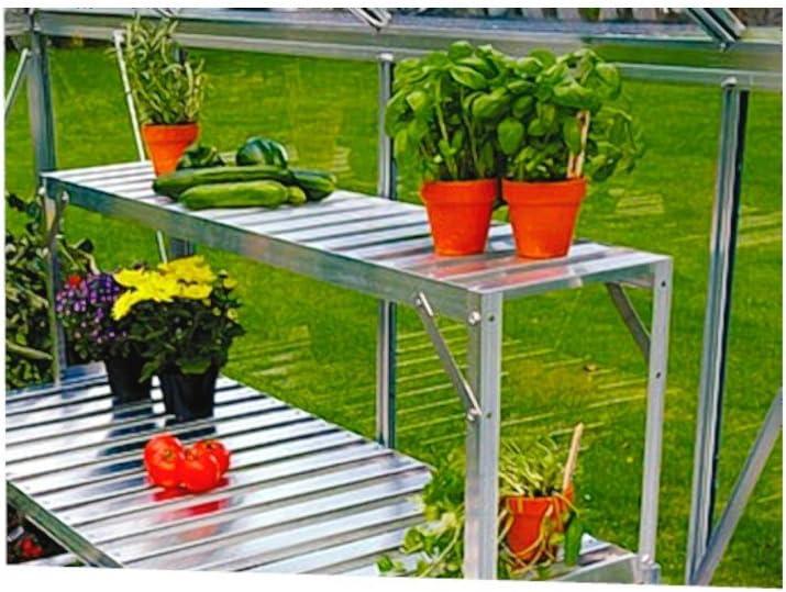 Invernadero de mesa Aufsatz accesorio para aluminio mesa 121 x 28 x 39 cm: Amazon.es: Jardín