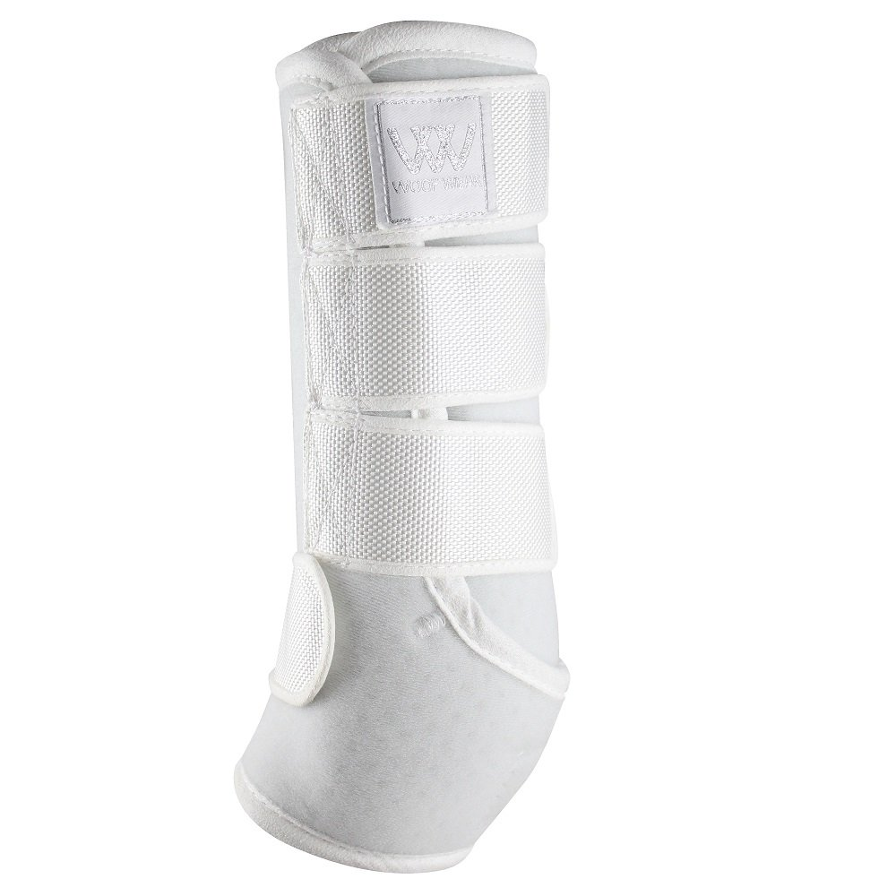 Woof Wear Dressage Wraps XL White by Woof Wear