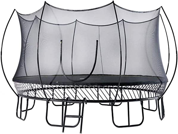 FreeJump Springless Trampoline with Safety Net Enclosure