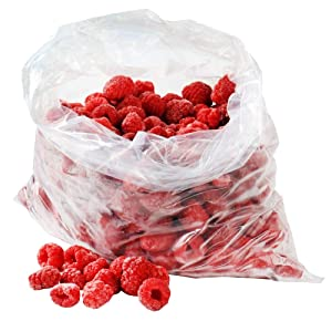APQ Pack of 100 Clear Plastic Bags 8 x 10. Block Bottom Storage Bags. Sweet Party Gift Home Bags. Thickness 2 mil. Open Top Plastic Bags for Storing and Transporting. Ideal for Industrial, Food Service and Health Needs.