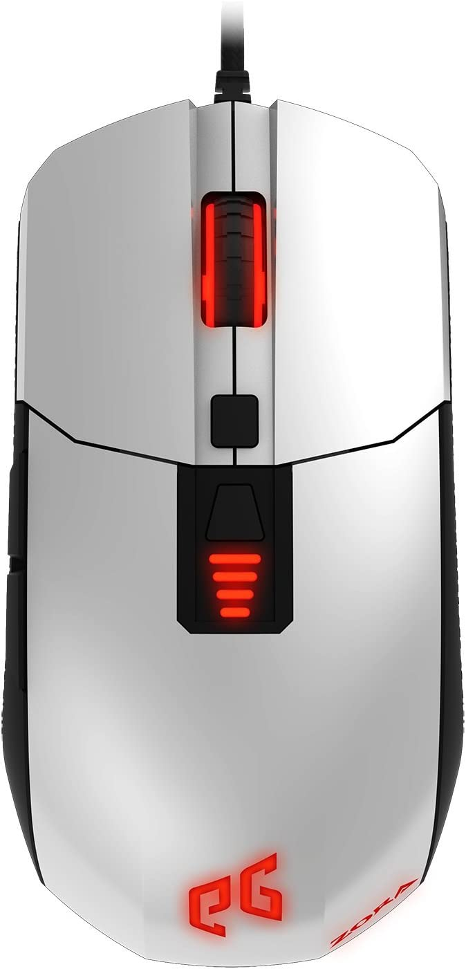 EpicGear Zora IR LED Gaming Mouse-White
