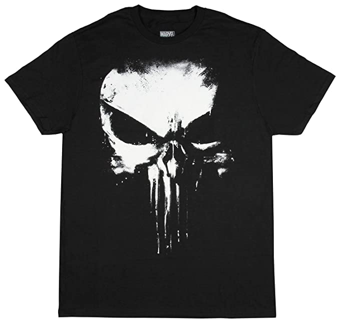 379eba49f7cd2 Amazon.com  Fashion Marvel Comics Punisher Darkest Fear Black ...