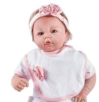 Amazon.es: O-YLS 45 cm Reborn Bebe Antonio Juan 18 Pulgada Muñecas ...
