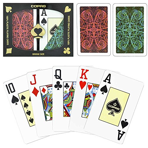 Copag Bridge Aldrava Jumbo Index Plastic Playing Cards Copag Bridge Cards