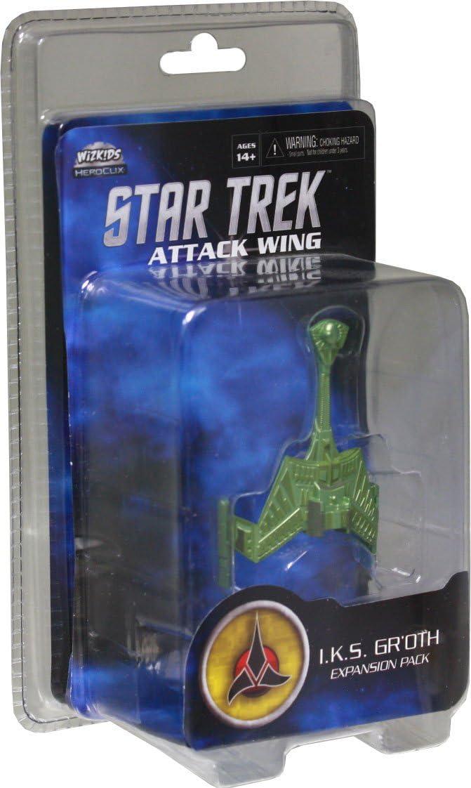 Desconocido IKS Groth Pack: Star Trek Attack Wing - Juego de miniaturas Star Trek, 1 o más Jugadores (Wiz Kids WZK71125) (versión en inglés): Amazon.es: Juguetes y juegos