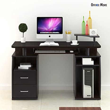 Amazon.com: Más Home Office Mesa computadora de computadora ...