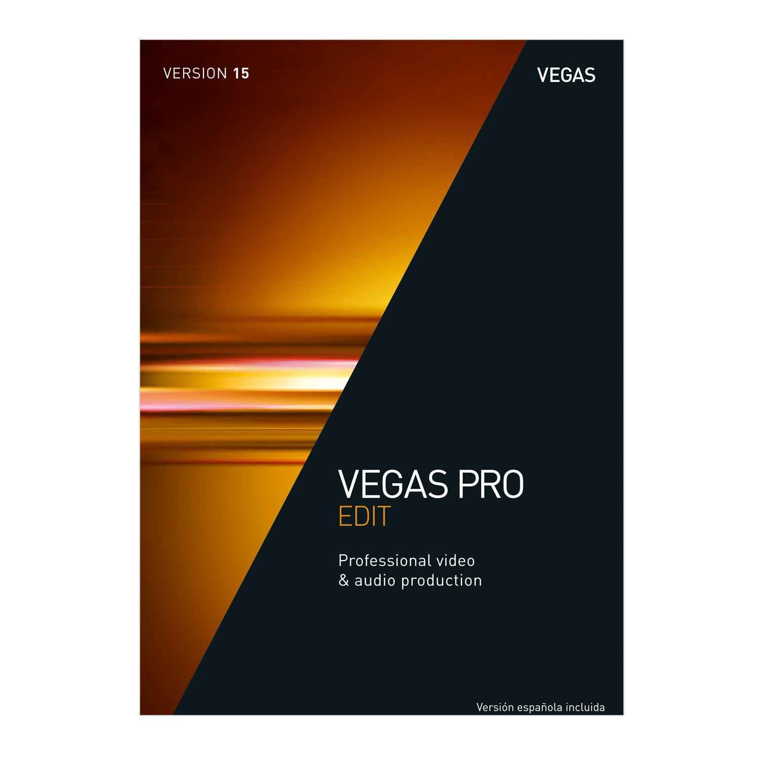VEGAS Pro 15 Edit – Professional Video & Audio Editing [Download]