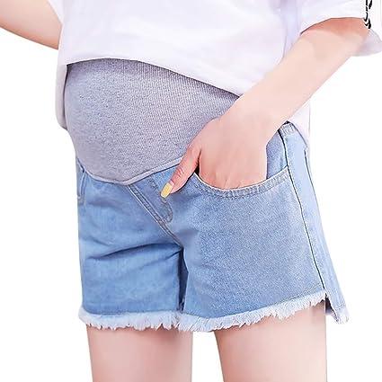 a94fd418e2fd1 Amazon.com: Plus Size Maternity Shorts Summer New Jeans Shorts Linen Pants  Care Belly: Appliances