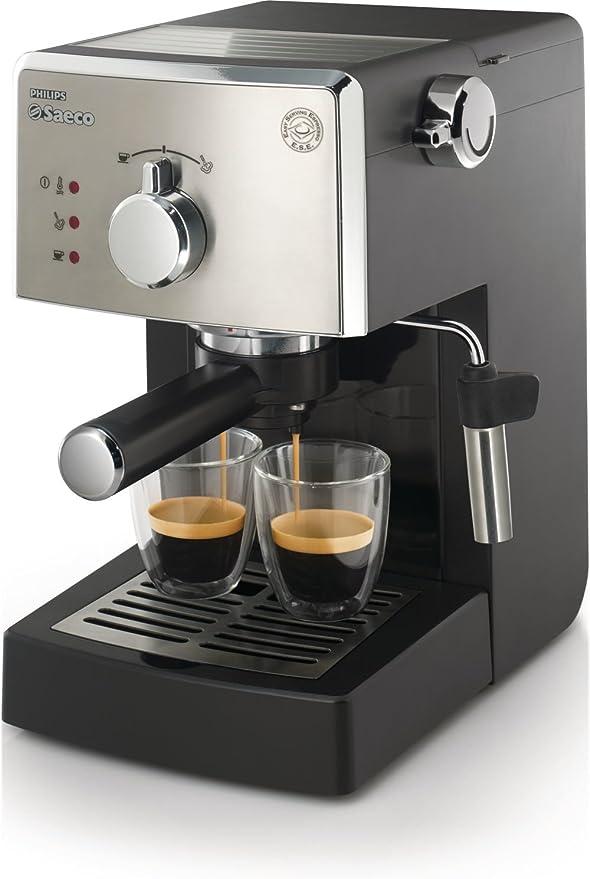 Saeco HD842501 - Cafetera espresso, manual, 15 bares, deposito ...