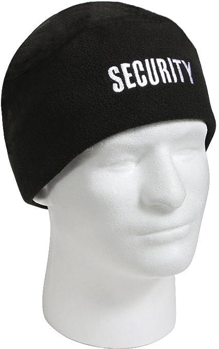 Amazon.com  RothcoNY Black Security Guard Officer Polar Fleece Cold ... 37cd16cc009