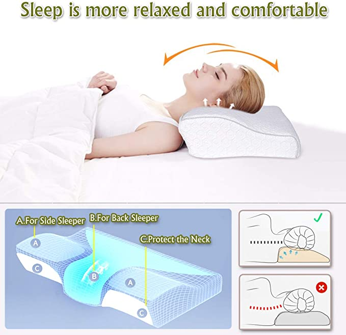 BioSense 2 Slim Profile Pillow for