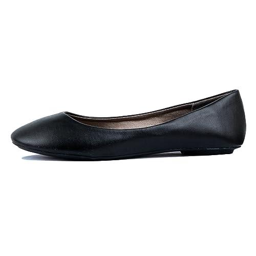 West Blvd Womens Ballet Flats Slip On Shoes Ballerina Slippers