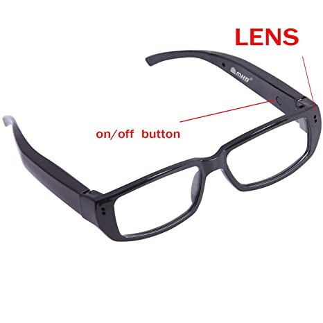 64a70d21c3 Buy M MHB Specks-new HD Spy Camera Reading Glasses - (Black) Online at Low  Price in India
