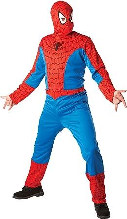 Marvel - Disfraz de Spiderman para hombre, Talla única (Rubies ...