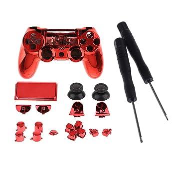 perfk Kit de Accesorios Todo en Uno para Sony PS4 Pro Cubierta de ...