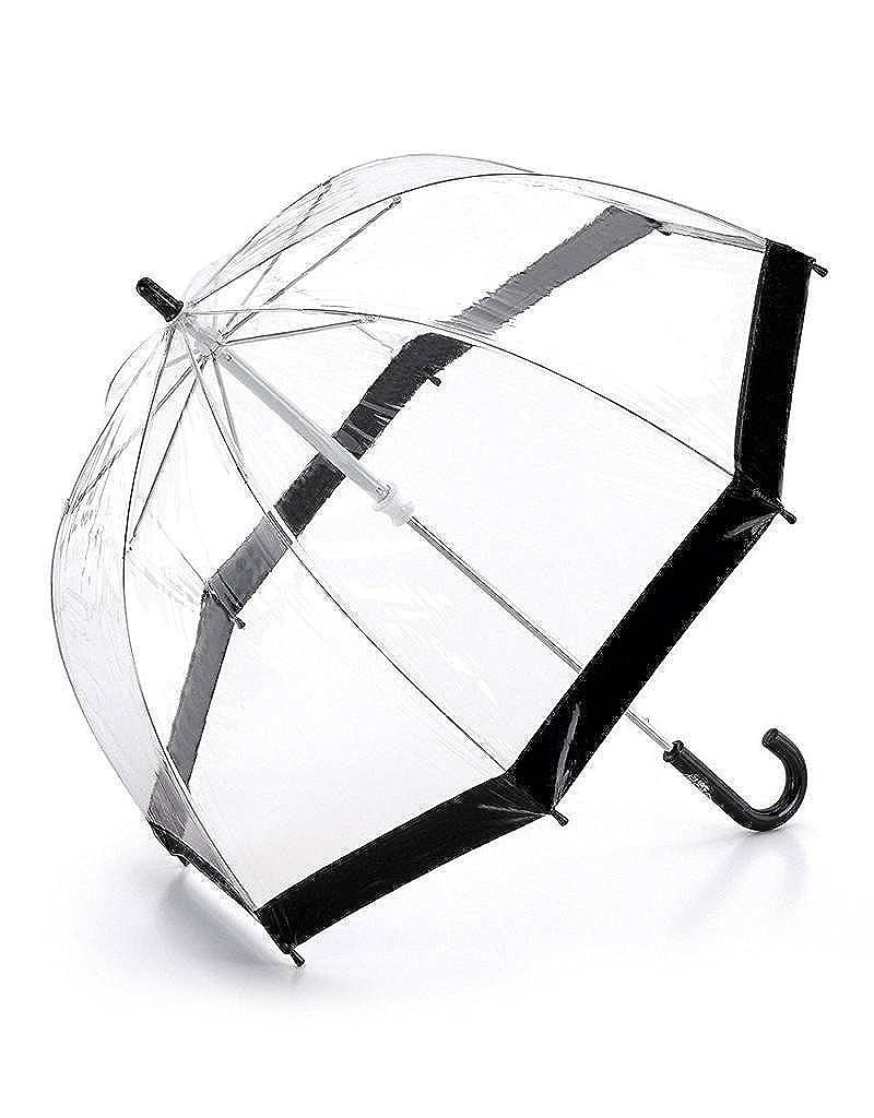 Enfants Parapluie dôme transparent Noir