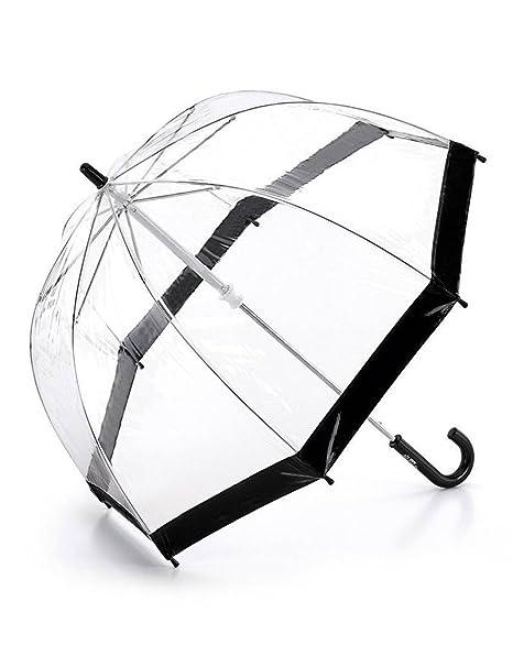 Fulton Childrens claro cúpula paraguas negro
