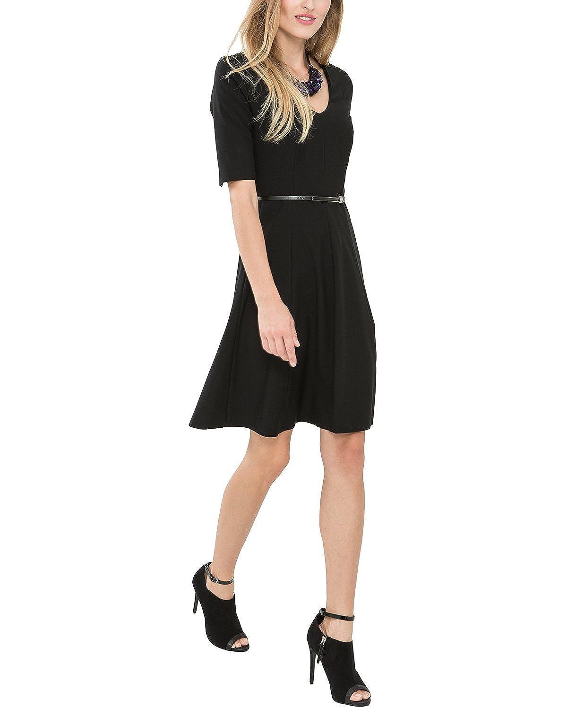 Comma Women's KLEID KURZ 85.899.82.0040 Short Sleeve Dress