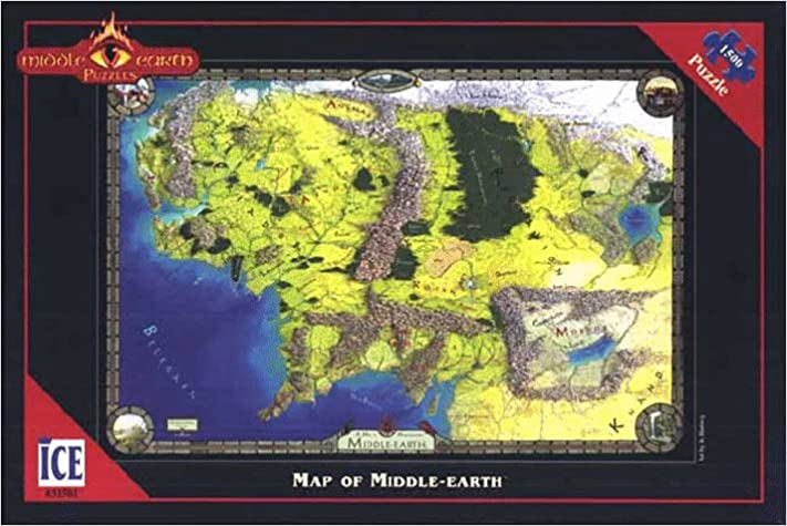 Buy earth jigsaw puzzle map of middle earth middle earth puzzles buy earth jigsaw puzzle map of middle earth middle earth puzzles book online at low prices in india earth jigsaw puzzle map of middle earth gumiabroncs Gallery
