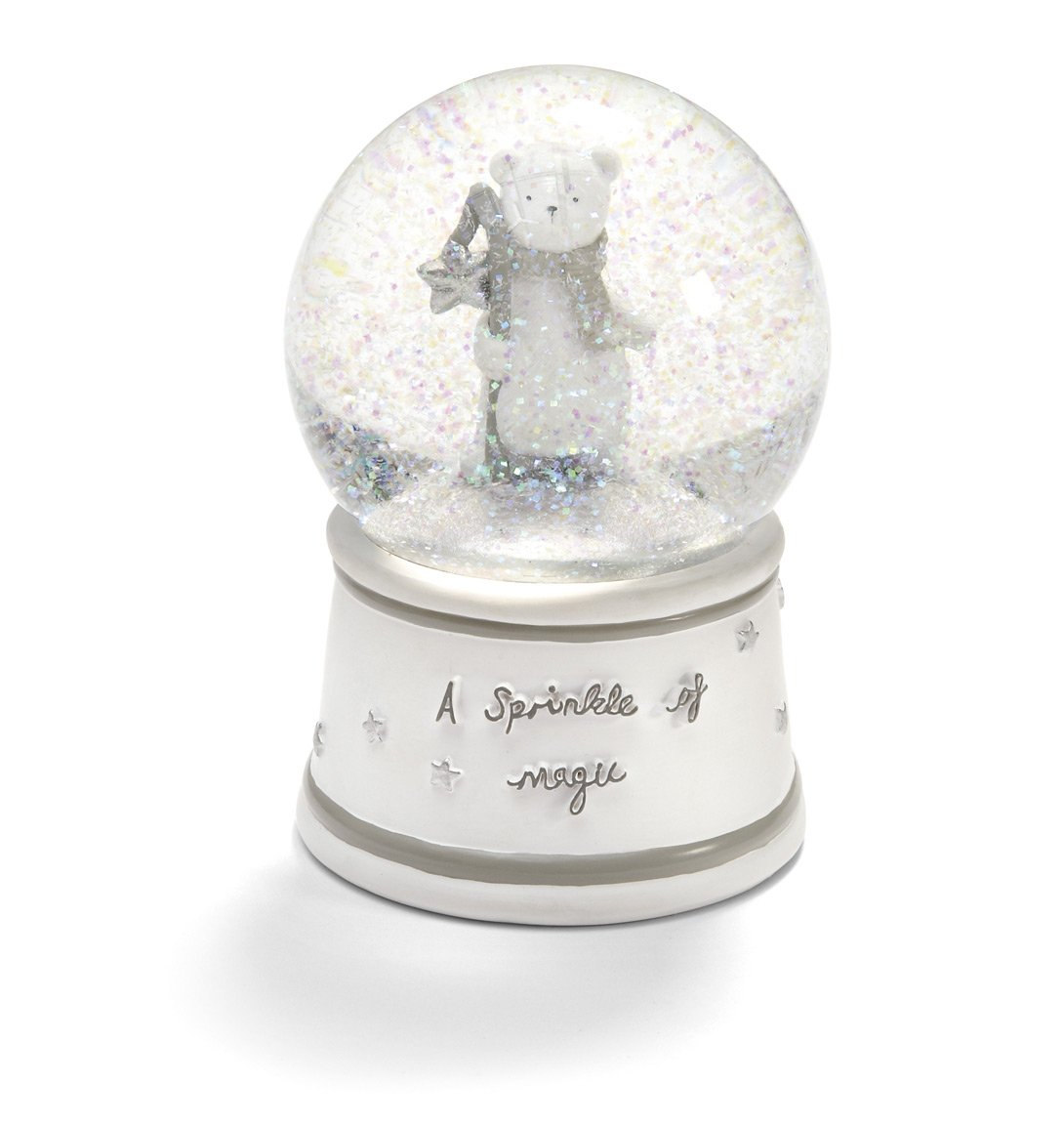 Mamas & Papas Polar Bear Christmas Snow Globe (White) 454802700