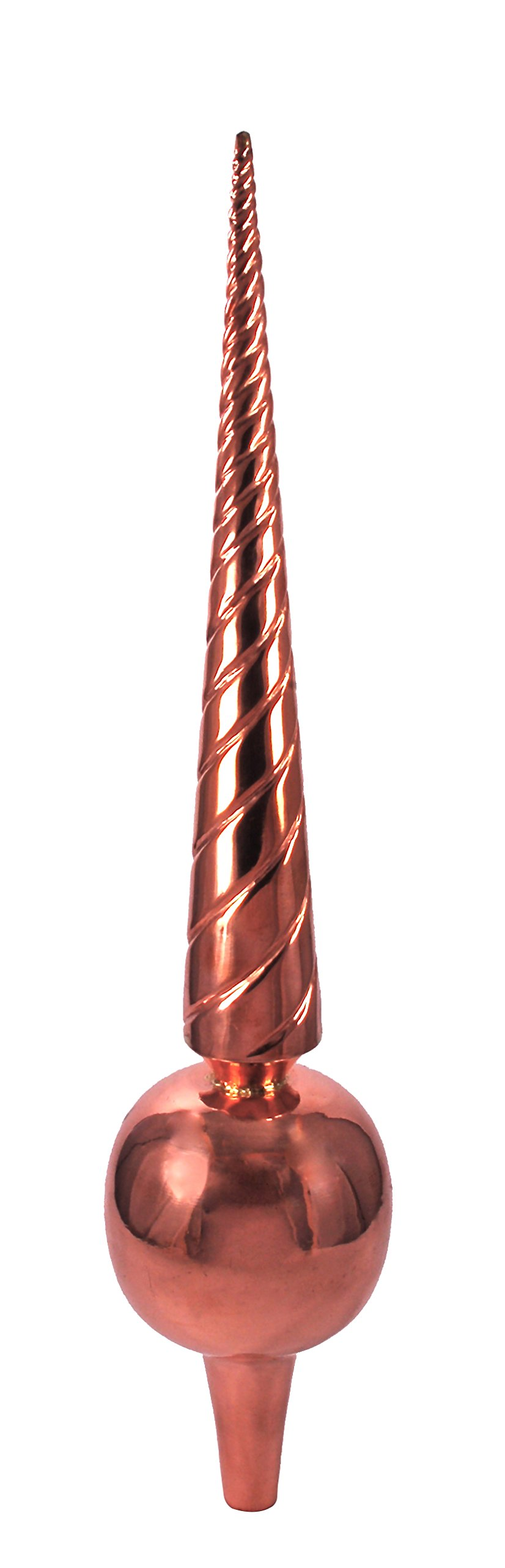 Dalvento Medium Venetian Finial- Copper by Dalvento