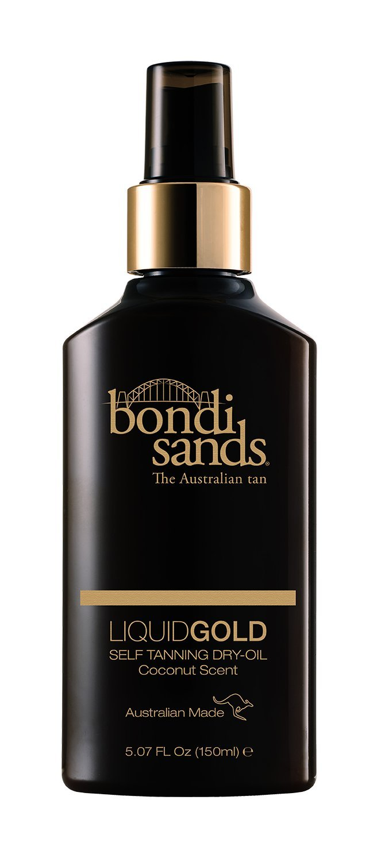 Bondi Sands- Liquid Gold Self Tanning Dry Oil Provides a Longer Lasting Tan and Skin Hydration (150ML)