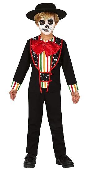 FIESTAS GUIRCA Disfraz de calaca Esqueleto Mexicano Día del niño ...