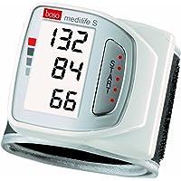 boso medilife S   Handgelenk Blutdruckmessgerät mit 14-Tage-Profil Speicher, extra großem Display und Arrhythmie-Erkennung   Inkl. Handgelenkmanschette (13,5-21,5 cm)