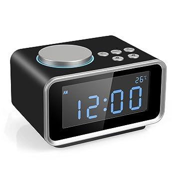 FM Digital Radio Wecker Radiowecker Uhrenradio mit: Amazon.de ...