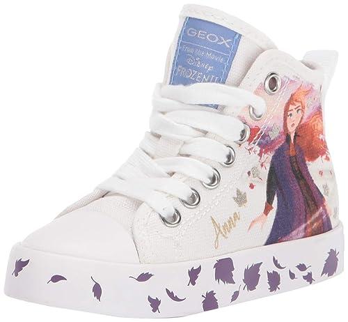 zapatos geox frozen blanco