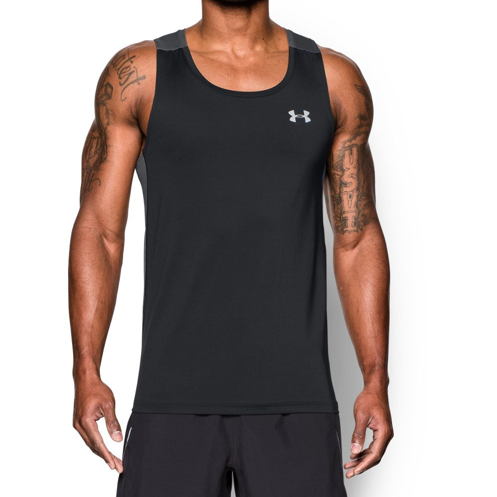 Under Armour UA CoolSwitch Singlet XL Black