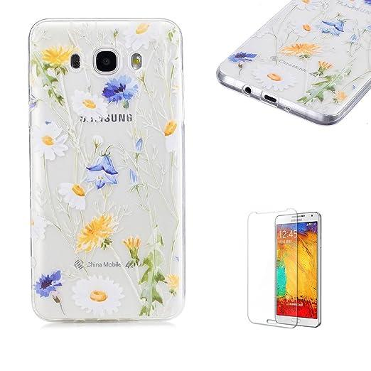 12 opinioni per Cover Per Samsung Galaxy J7 (2016 Model),Funyye Trasparente Silicone Morbido