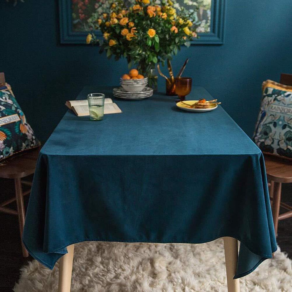 QY テーブルクロス テーブルクロス インジゴ 祭り 設計 ぬいぐるみ 矩形 テーブルクロス エコロジー やさしい 安全性 感謝 与える 祭り シーズン。 QY テーブルクロス (色 : B blue, サイズ さいず : 140x200cm) 140x200cm B blue B07SD76QQG