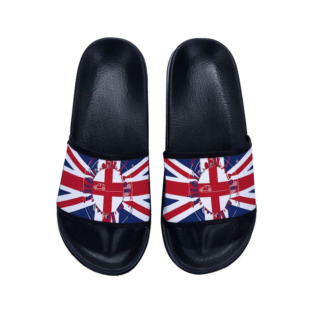 XINBONG Slides Sandals for Boys Girls Anti-Slip Swim Shower Pool Slippers Little Kid//Big Kid