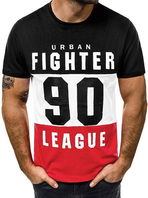 Fxbar,Custom Mens Business Short-Sleeve T Shirt Football Printed Tee Top