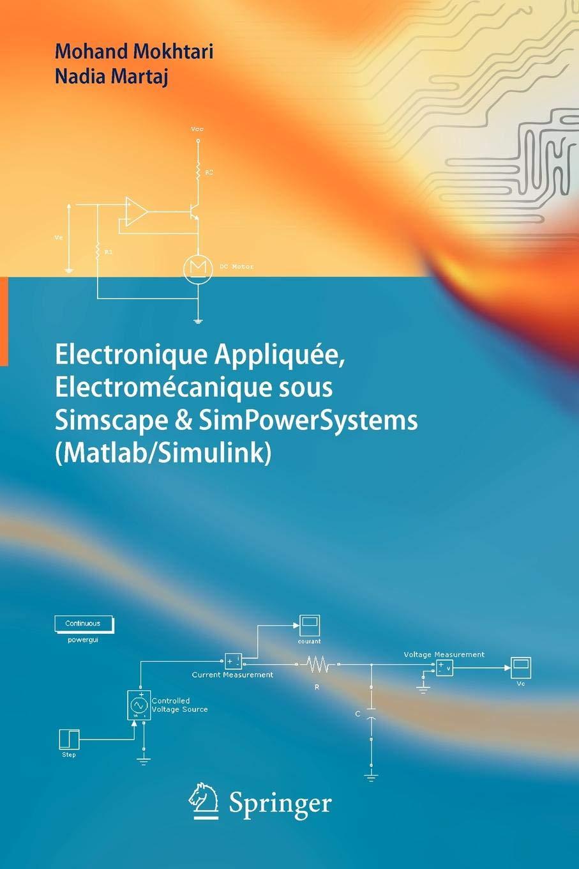 Electronique Appliquée, Electromécanique sous Simscape